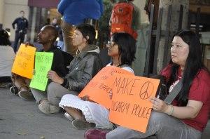 BPF_close of protestors