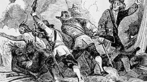 Pequot genocidal slaughter