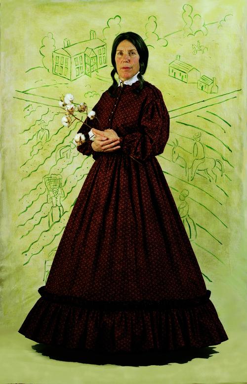 Slaveholder Eugenia Mary Felder Buchanan, 1823-98