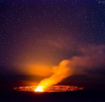 Hawaii Volcanos National Park crop
